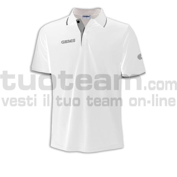 QH03 - Polo Mali - WHITE/GREY