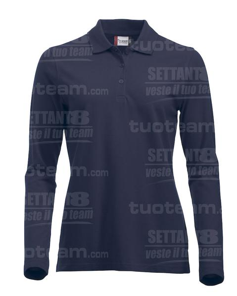 028247 - POLO New Classic Marion L/S - 580 blu