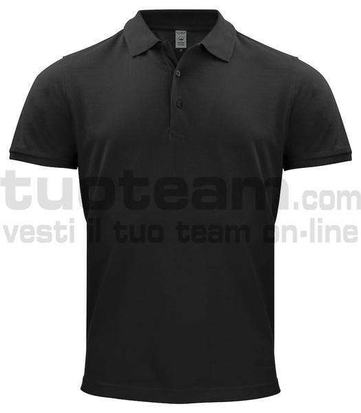 028264 - Organic Cotton Polo - 99 nero