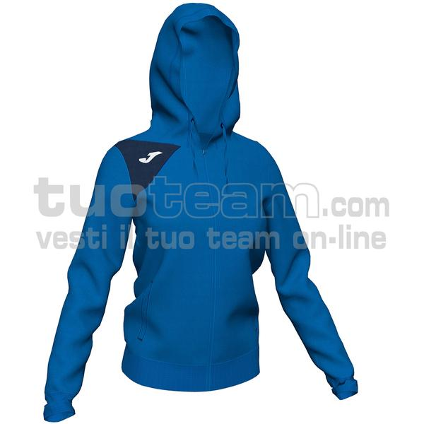 900869 - SPIKE II WOMAN GIACCA 90% polyester fleece 10% elastan - 703 ROYAL / DARK NAVY