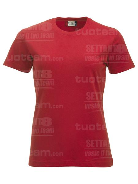 029361 - T-SHIRT New Classic T Lady - 35 rosso