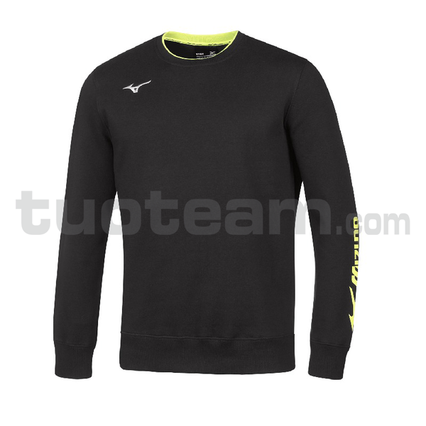32EC7007 - Sweat felpa girocollo - Black/Black