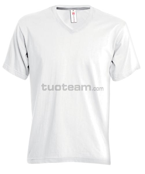 V-NECK LADY - T-SHIRT V-NECK LADY - BIANCO