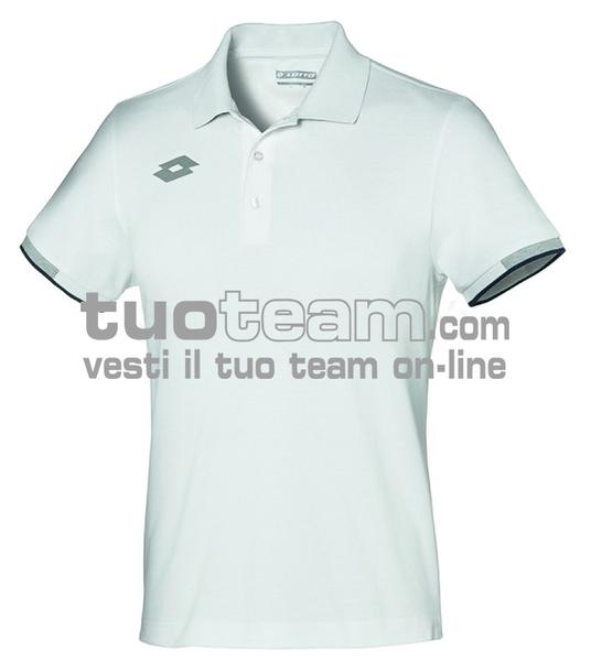 L58649 - DELTA JR POLO PQ - bianco brillante
