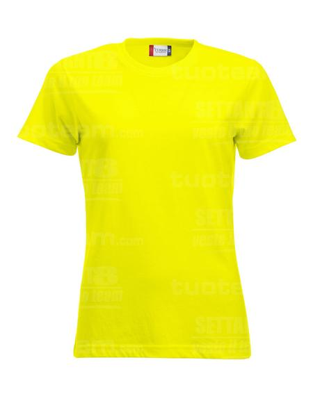 029361 - T-SHIRT New Classic T Lady - 11 giallo HV