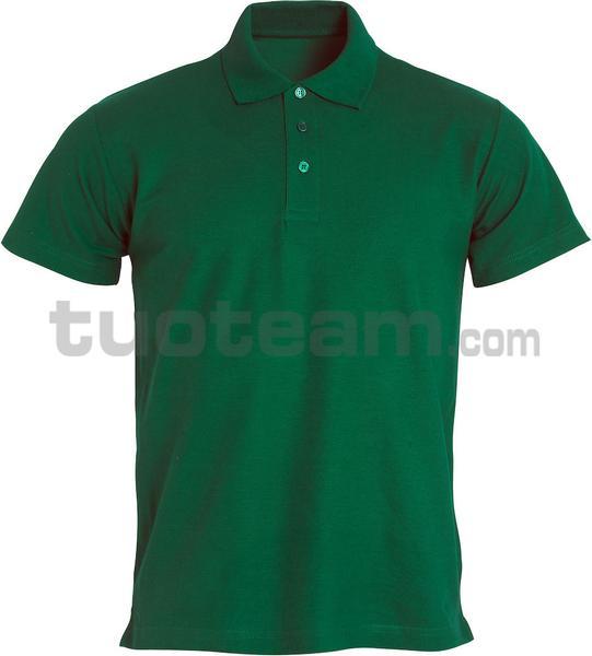 028230 - polo basic - 68 verde bottiglia