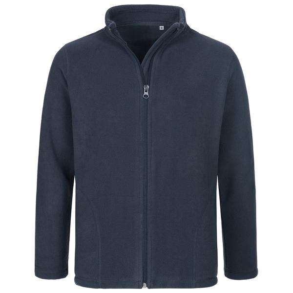 ST5170 - Active Bambino Pile Jacket 100% Poly 220 gr/m2 - Blue Midnight