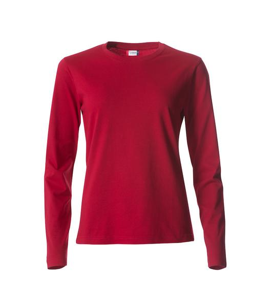 029034 - Basic-T Long Sleeve Lady - 35 rosso