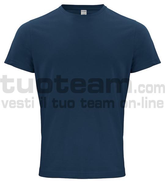 029364 - Organic Cotton T-shirt - 580 blu navy