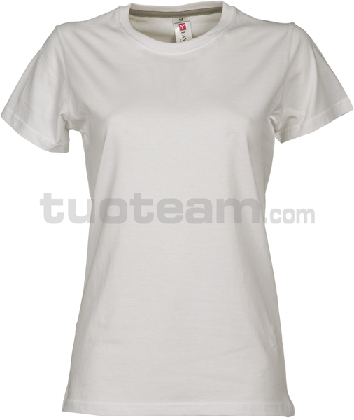 SUNRISE LADY - SUNRISE LADY t shirt - BIANCO