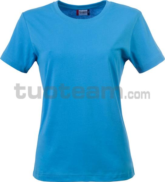 029031 - Basic-T T-SHIRT Lady - 54 turchese