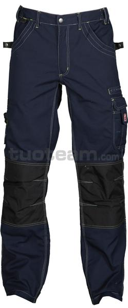 VIKING - PANTALONI VIKING - BLU NAVY/NERO