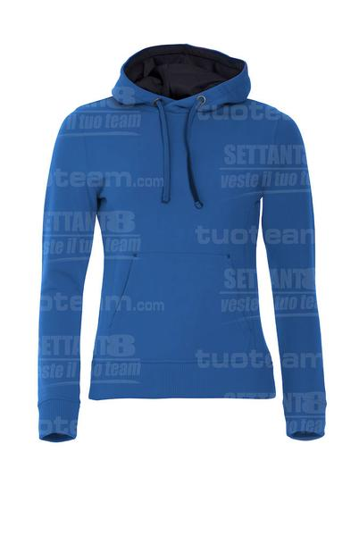 021042 - FELPA Classic Hoody Ladies - 55 royal