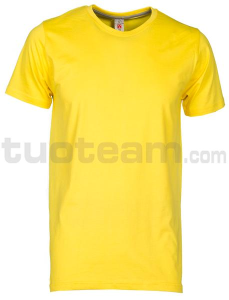 SUNSET - T-SHIRT SUNSET - GIALLO