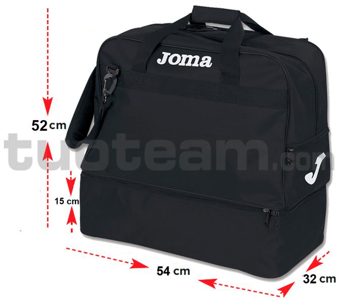 400008 - BORSA TRAINING EXTRA LARGE FONDO COMPONIBILE - 100 NERO
