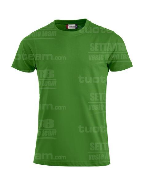029340 - T-SHIRT Premium-T Mens - 605 verde acido