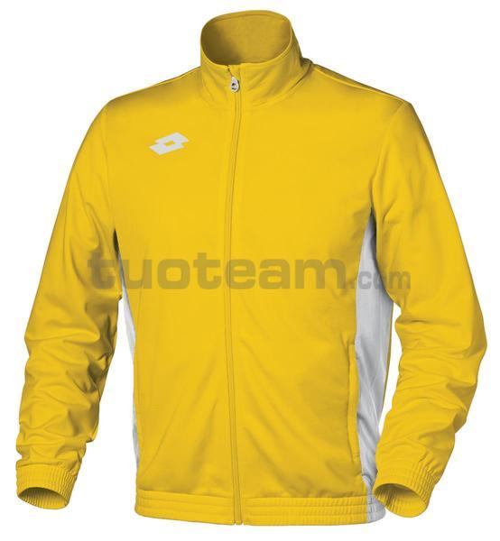 T1959 - GIACCA DELTA FZ junior giallo/bianco