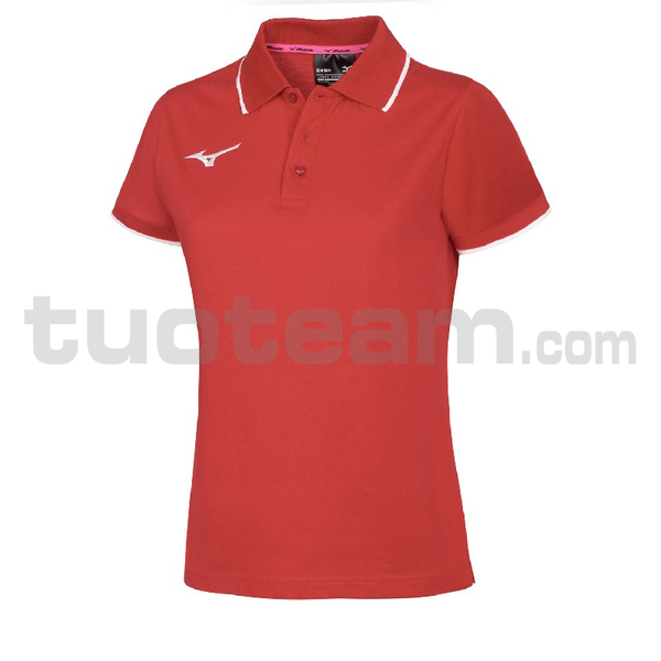 32EA7241 - polo W - Red/Red