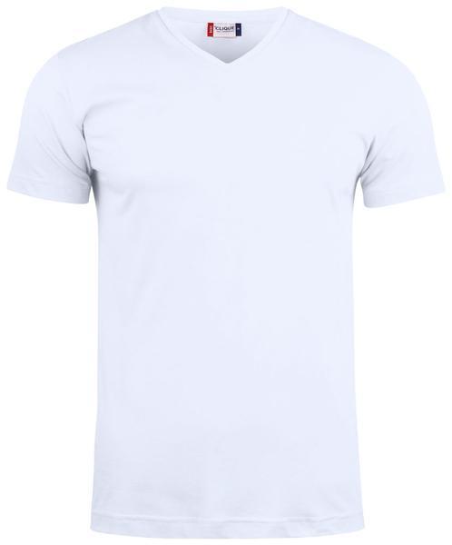 029035 - Basic-T V-neck - 00 bianco
