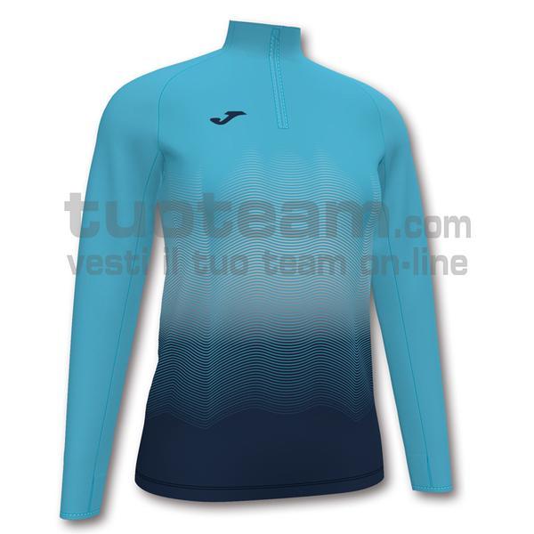 901031 - ELITE VII WOMAN FELPA 90% polyester 10% fleece elastane - 013 TURCHESE FLUO