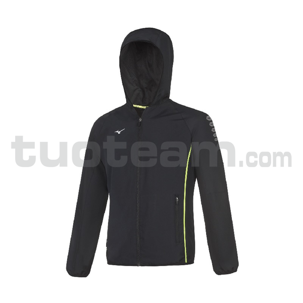 32EE7002 - Micro Jacket Hooded - Black/Black