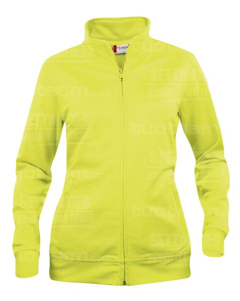 021039 - FELPA Basic Cardigan Lady - 11 giallo HV