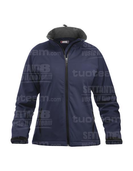 020925 - GIACCA Softshell Lady - 580 blu