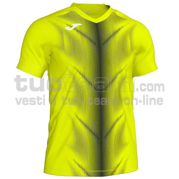 101370 - OLIMPIA MAGLIA MC 95% polyester 5% elastane - 061 GIALLO FLUO/NERO