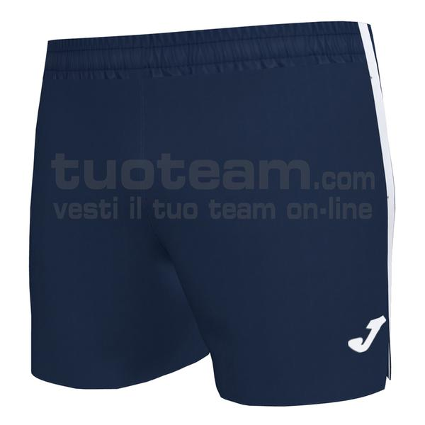 101581 - ELITE VII SHORT 95% polyester 5% elastane - 332 DARK NAVY / BIANCO