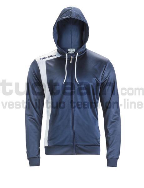7624 - GIRONA giacca - BLU / BIANCO