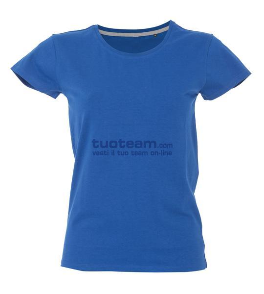 99379 - T-Shirt New Maldive Lady - BLU ROYAL