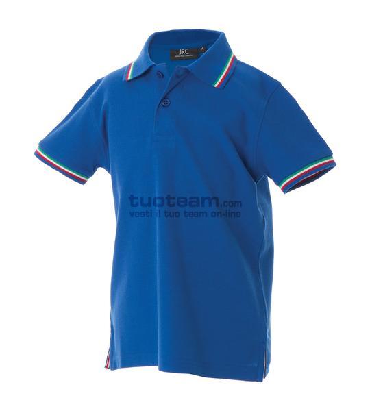 98971 - Polo Aosta Boy - BLU ROYAL