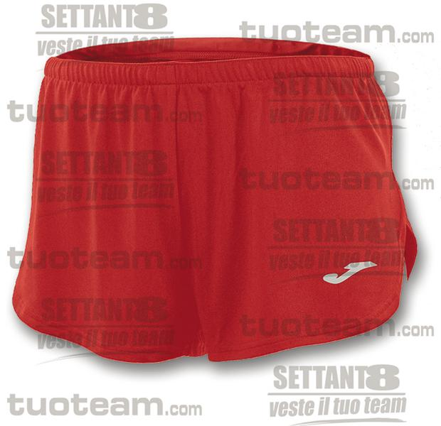 100091 - RECORD SHORT 100% polyester interlock - ROSSO