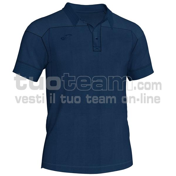 101282 - WINNER II POLO WINNER II MC 65% polyester 35% cotton - 300 BLU NAVY