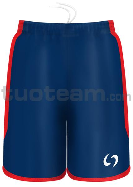 7259 - pantaloncino KENIA - BLU / ROSSO