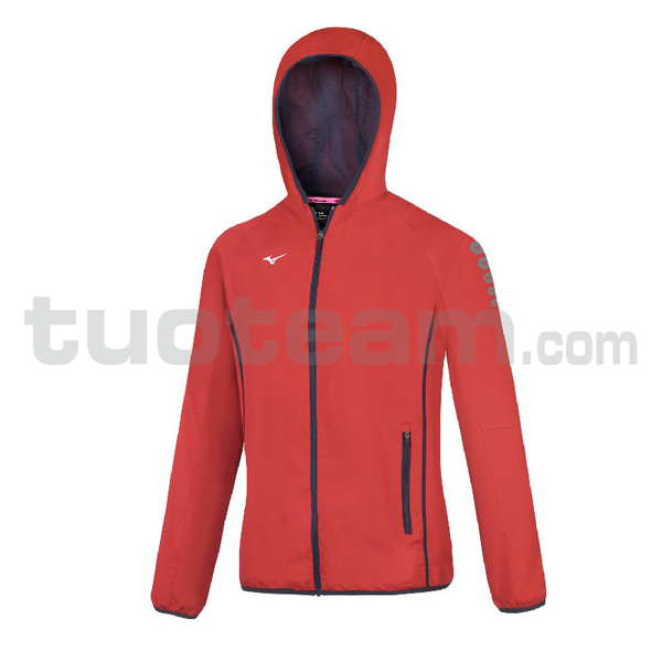 32EE7202 - micro Jacket W - Red/Red