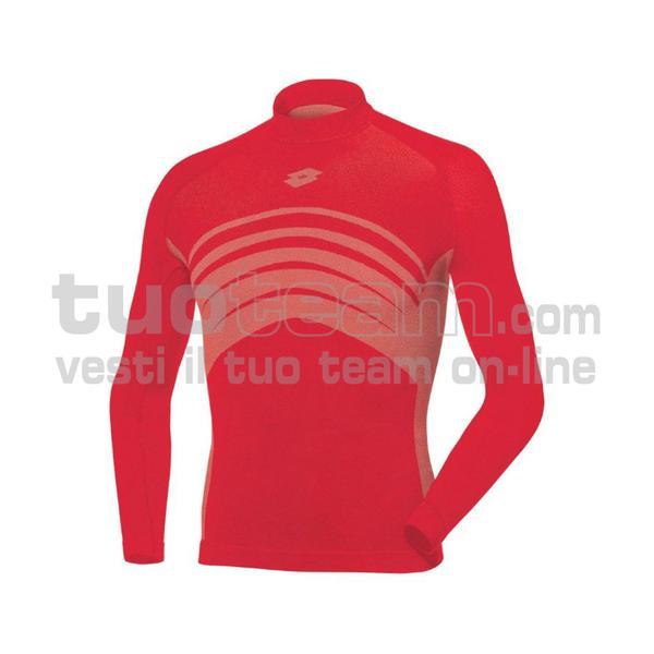L49533 - UND TEE LS SML - rosso