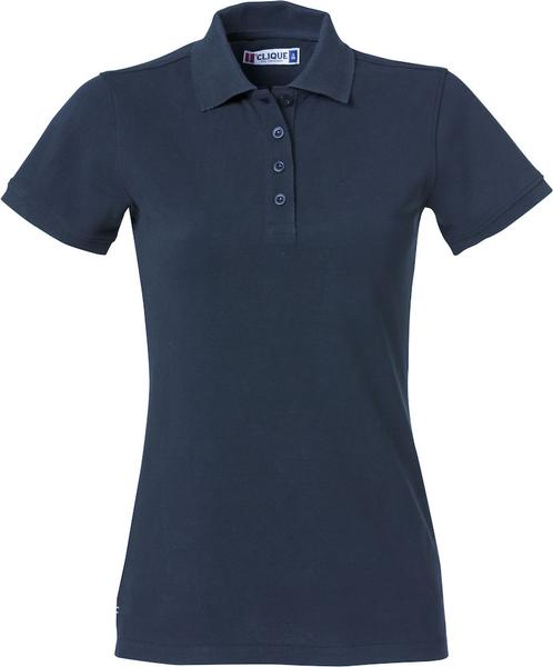 028261 - Heavy Premium Polo Lady - 580 blu navy