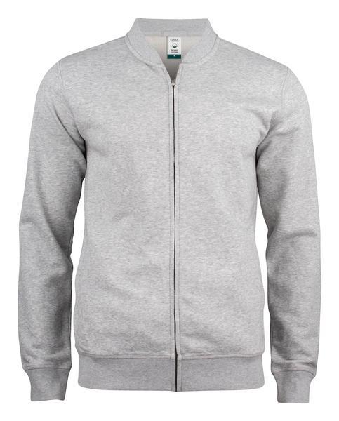 021006 - Premium OC Cardigan - 95 grigio melange