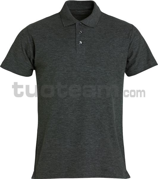 028230 - polo basic - 955 antracite melange