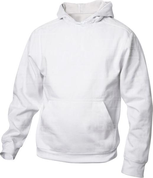 021021 - FELPA Basic Hoody Junior - 00 bianco