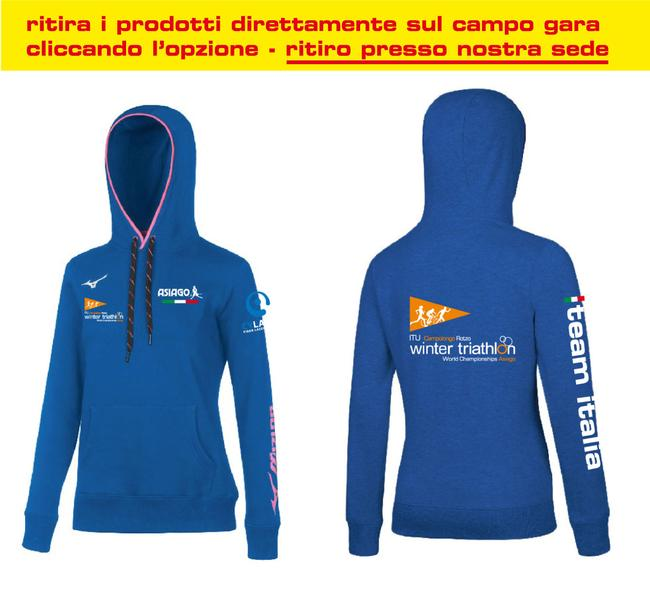 BD1800056 - Felpa Royal Donna World Championship Winter Triathlon (IT)