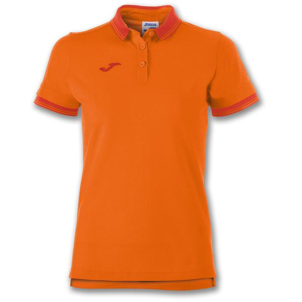 900444 - POLO BALI II WOMAN 65% polyester 35% cotton - 800 ARANCIO