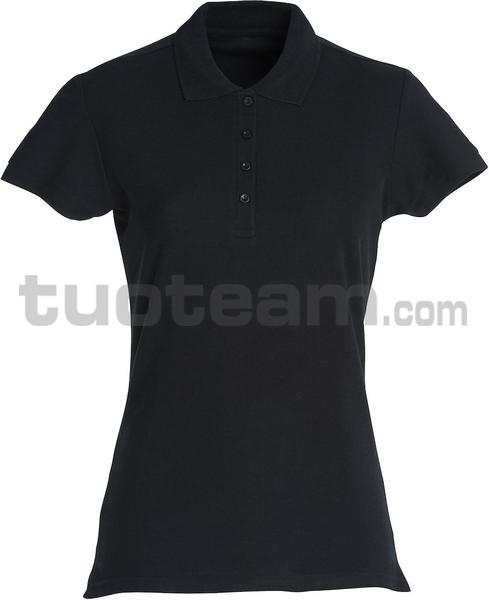 028231 - polo basic lady - 99 nero