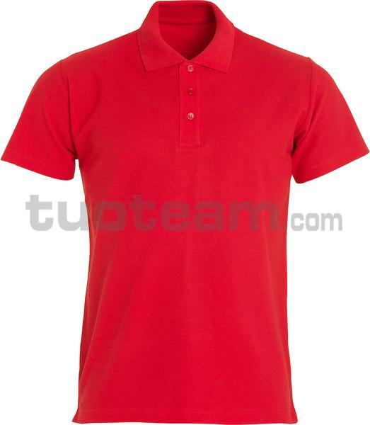 028230 - polo basic - 35 rosso