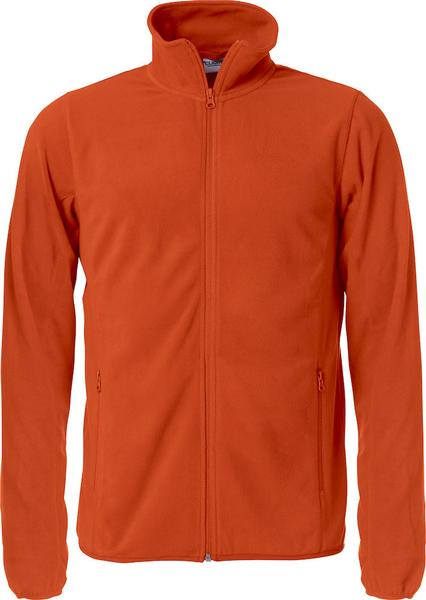 023914 - BASIC MICRO FLEECE JACKET - Giacca in micropile - 18 arancione