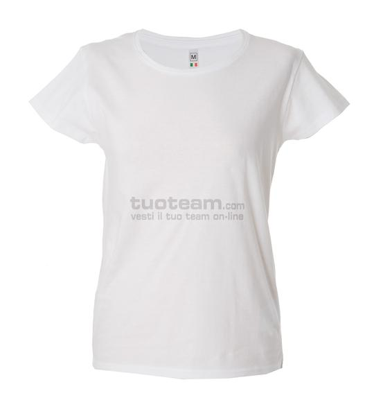 99093 - T-Shirt Argentina Lady - BIANCO