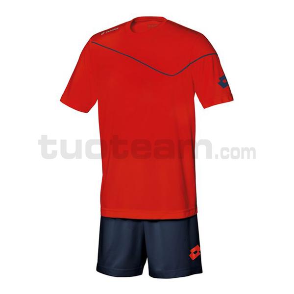Q8554 - KIT SIGMA M/C junior rosso/blu navy