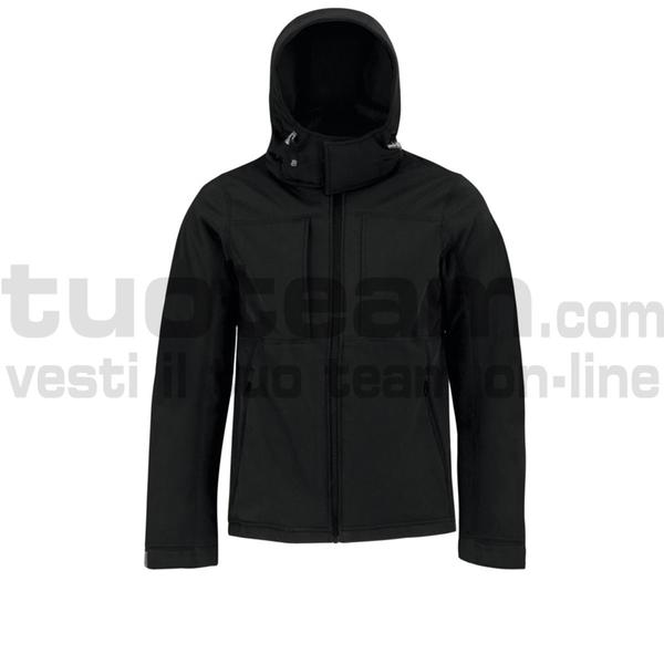 CJM950 - Hooded Softshell Jacket - Black