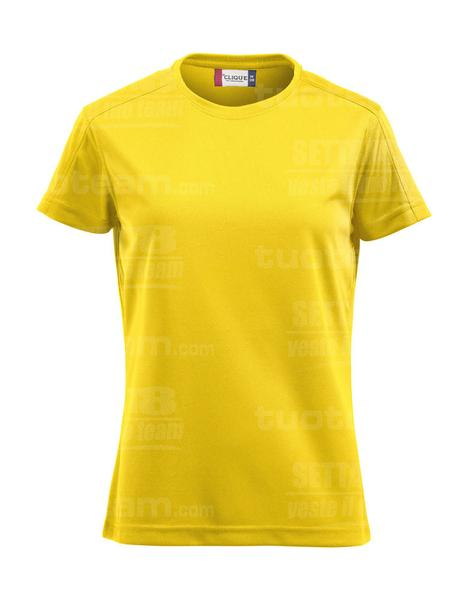 029335 - T-SHIRT Ice-T Lady - 10 giallo limone